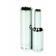 Deep Sockets Chrome 12 Point