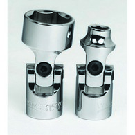 Shallow Sockets Universal Chrome