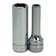 Shallow Sockets Chrome 4 Point and 8 Point