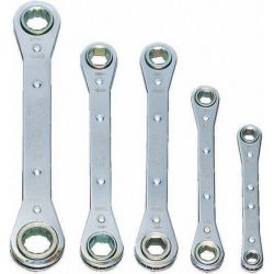 Williams Ratcheting Box Wrench Set, 5 Piece