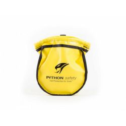 Python Small Parts Pouch - Vinyl Yellow