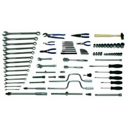 Williams General Service Set - 80 Pieces including Tool Box